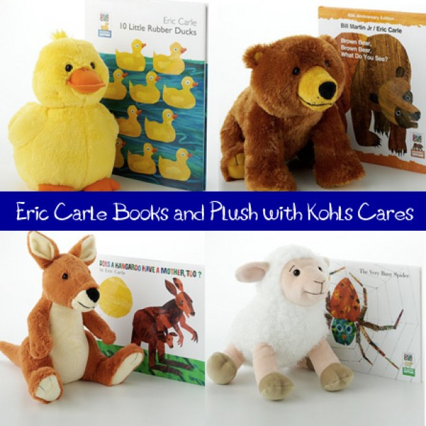 Kohl S Toys Boys 5 7 : Quot eric carle books and toys collection by kohl s cares for