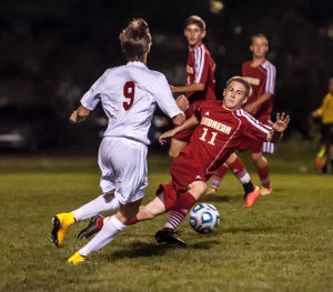 Munster boys soccer is undefeated in conference play with Andrean win