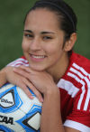 Jessica Flores is the Girls Soccer Player of the Year