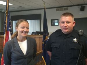 Portage welcomes 62nd and 63rd cops to department