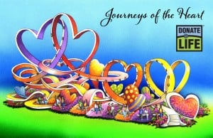 Rose Parade float to carry messages from the heart