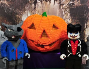 Lego event is haunting good time