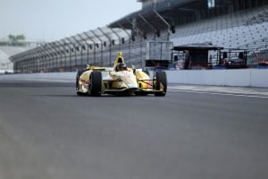 Busch has solid test at Indy, 500 unlikely