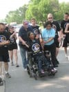 Locals carry the torch for Special Olympics