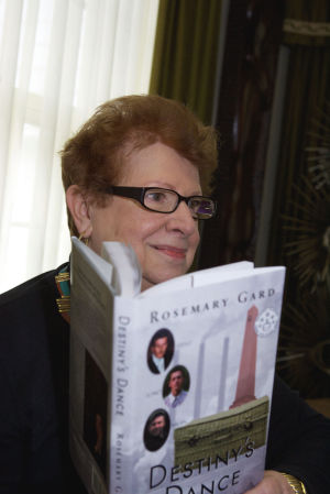 Author Rosemary Gard based her Destiny trilogy on her Croatian heritage and childhood experiences