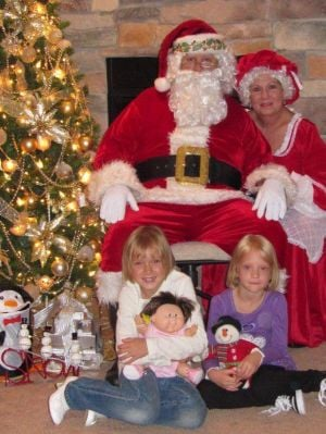 Avalon Springs Health Campus celebrates Breakfast with Santa