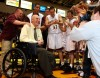 One-legged, cancer-stricken coach to speak at Valpo