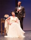 "Rashawn Thompson plays Marvin Gaye and Tammi Terrell, played by Melanie McCoullough, Star in Black Ensemble Theater's ""The Marvin Gaye Story"""