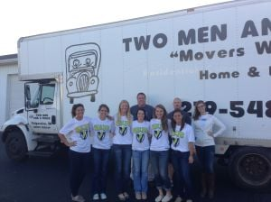Two Men and a Truck helps United Way deliver Reading Buddies