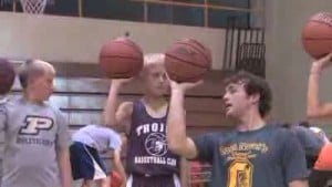 Zack Novak helps future basketball stars