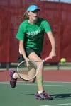 Valparaiso No. 1 singles player Caitlin Kennedy