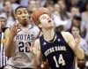No. 11 Georgetown beats No. 20 Notre Dame