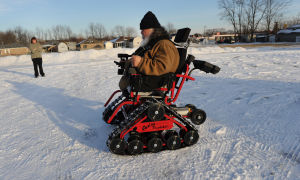 ATV wheelchair to help disabled Indiana hunter