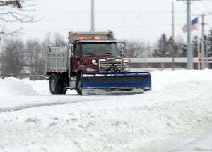 Plows work to clear all lanes of traffic