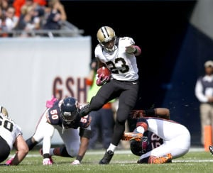 Pierre Thomas scores 2 TDs in Saints' big win