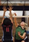 Illiana Christian wins third straight regional volleyball title