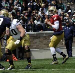 Brian Kelly says Tommy Rees will start for Notre Dame in 2013