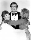 Steve Allen with Singers Patti Page (left) and Dinah Shore in 1983
