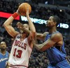 Rose leads Bulls past Wizards