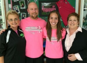 JIM PETERS: Breast cancer awareness is personal to Valpo girls cross country team