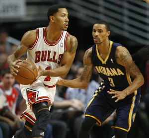 Bulls' defense ends Pacers' perfection, 110-94