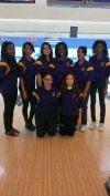 TF North girls bowling team