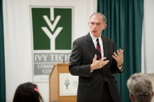 Congressman talks to Ivy Tech students about the Constitution
