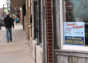 Whiting and Hammond merchants say they welcome everyone