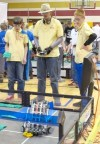 Crown Point robotics team qualifies for national and world tournaments