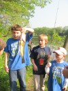 Cub Scout Pack 42 holds annual fishing derby at Hobart's Lake George