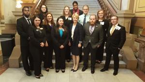 Purdue Calumet, North Central students visit state house