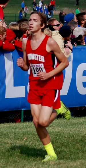 Returning all-state runner Kritzer is poised to rewrite Munster history