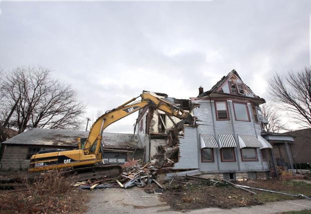 Historical Valpo Building Razed For Parking Lot