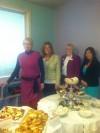 Debbi Reynolds (left to right), Sara Heinold, Mary Beth Schultz, and Lindsey Shira