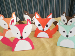 Foxy crafts for the holiday table