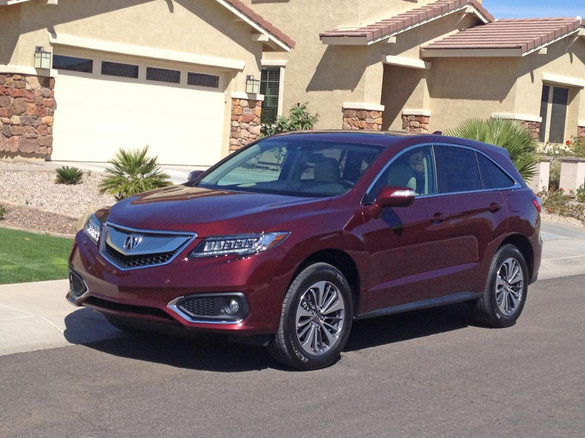 acura rdx rides a new look cars. Black Bedroom Furniture Sets. Home Design Ideas