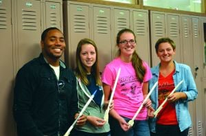 H-F students gain college experience