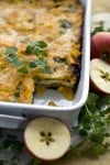 Apples and squash offer autumnal take on lasagna