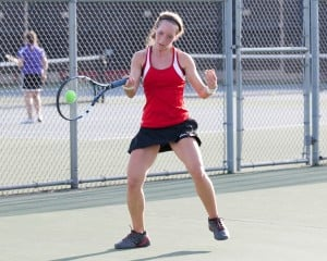 Mustangs capture 37th straight girls tennis sectional title