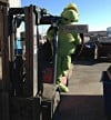 Fans vote Metro Recycling's mascot, Scrappy the Turtle, #1