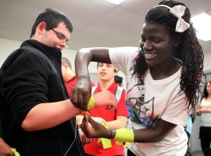 Calumet New Tech students learn about war in Uganda