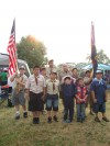 East Side Pack serves as color guard at Relay for Life