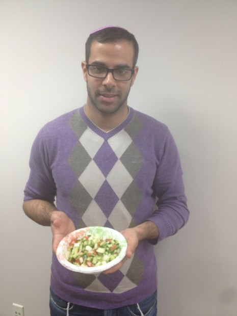 FROM the FARM: Israeli student shares perfect salad for Holy Week