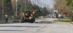 Repaving closes Main Street for week