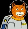 """Larry, Cat in Space"""
