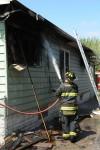 Fire damages Hammond home