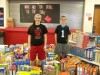 Hebron Middle School students host World Hunger Drive