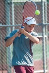 Chesterton No. 1 singles player Johny Mario