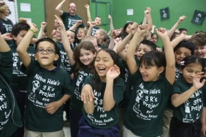 Whiting students celebrate Earth Day