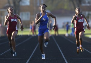 Girls Track: SAC championships
